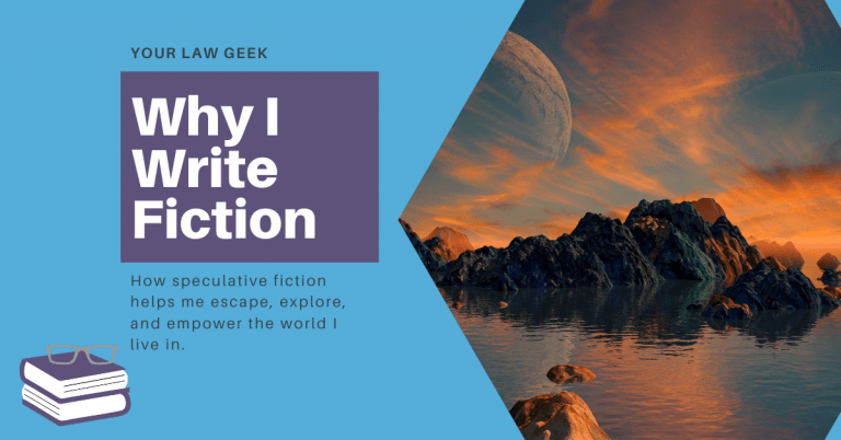 Why I Write Fiction