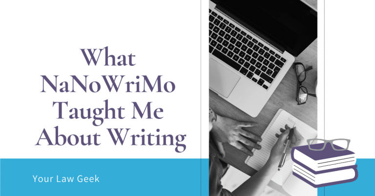 What NaNoWriMo Taught Me About Writing